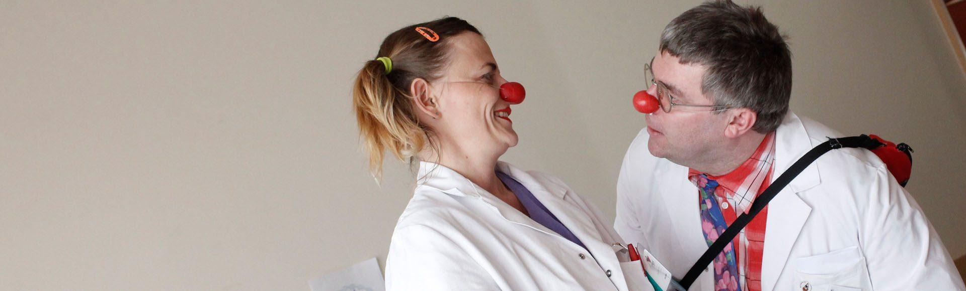 Lachen bis der Arzt kommt
